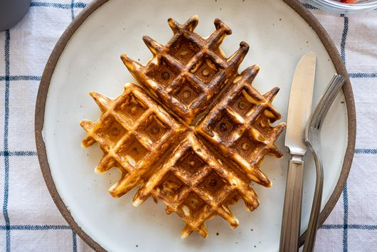 Sourdough Discard Waffles