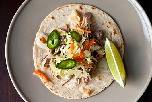 Slow-Cooker Citrus Pulled Pork Tacos
