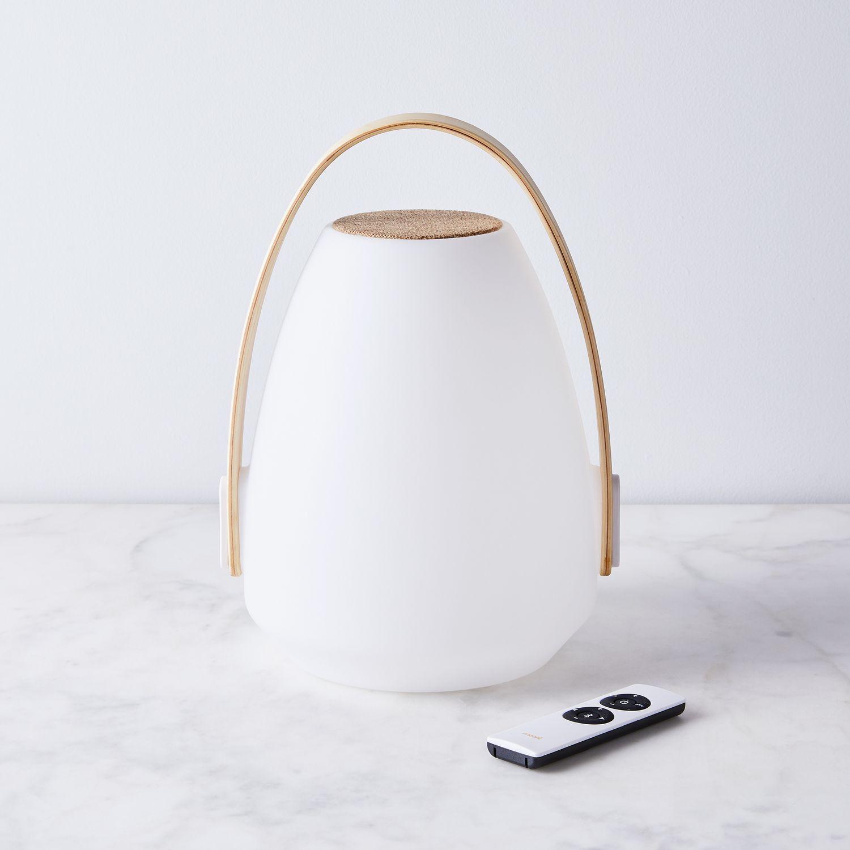 Mooni Andale Speaker Lantern Amp Wireless Charging Station