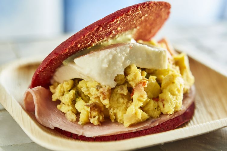 Breakfast-Style Arepa: The Morningside Arepas