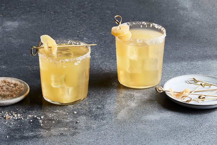 Smoky Pear & Ginger Margarita