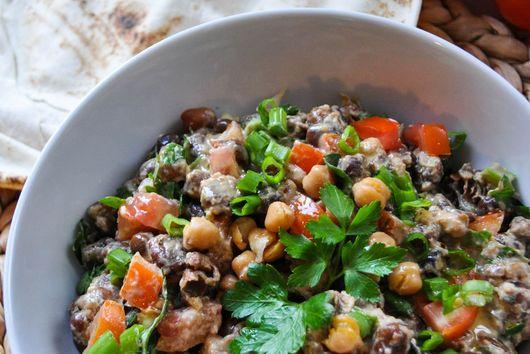 Ful Mudammas (Egyptian Fava bean stew)