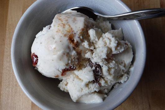 Amaretto Cherry Frozen Yogurt