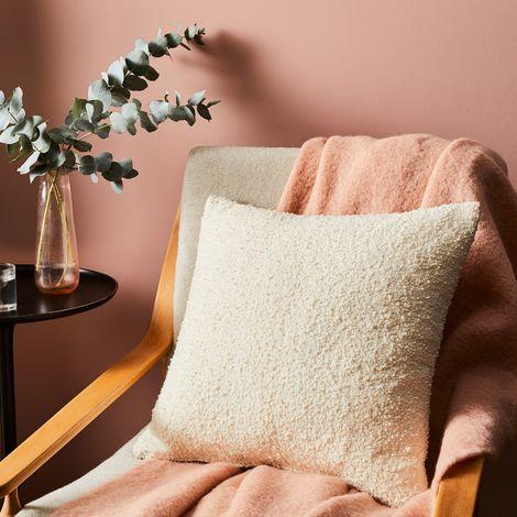 Ivory Bouclé Pillow