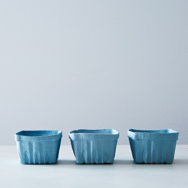 Raw Porcelain Berry Bowl Set Of 3 Porcelain Berry Bowl