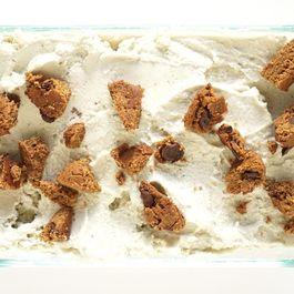 Vegan Double Mint Chip Cookie Ice Cream