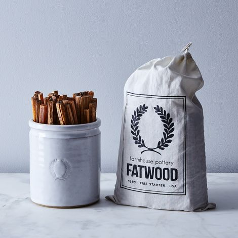 Laurel Crock & Fatwood Fire Starter