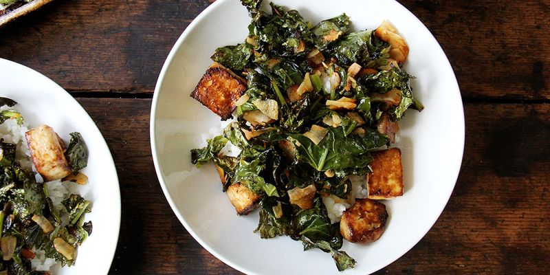 May all your vegetarian weeknight dinner dreams come true