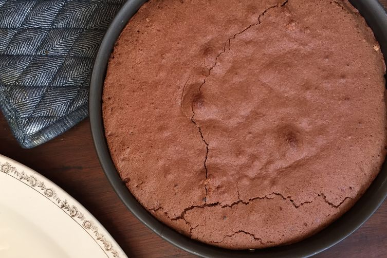 Chocolate Blackberry Mousse Cake