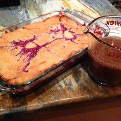 Blackberry Cobbler with Hard Sauce