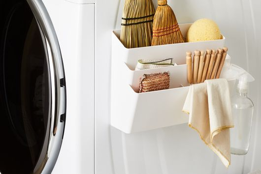 Magnetic Laundry Room Storage Pocket