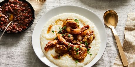 XO, meet shrimp and grits, meet home cook.