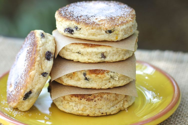 Welsh Cakes In Frying Pan