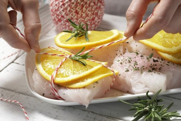 Grilled Cod Fillets