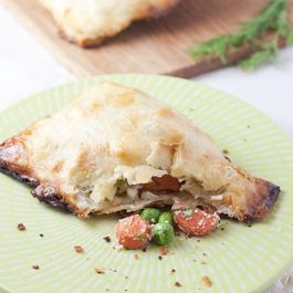 Darling carrot hand pies