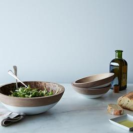 Hand-Dipped Walnut Wood Bowl (7 Inch)