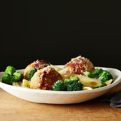 Chicken Sausage Meatball and Broccoli Pasta Bowl