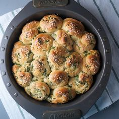 Scallion Milk Bread Rolls