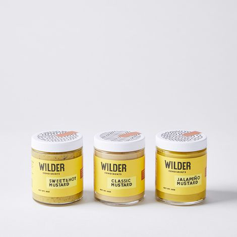 Small Batch Mustard Trio