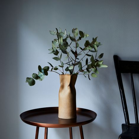 Handmade Ceramic Paper Bag Vase
