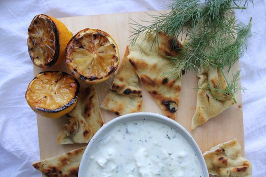 Grilled Lemon Tzatziki