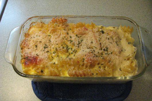Mom's Baked Macaroni