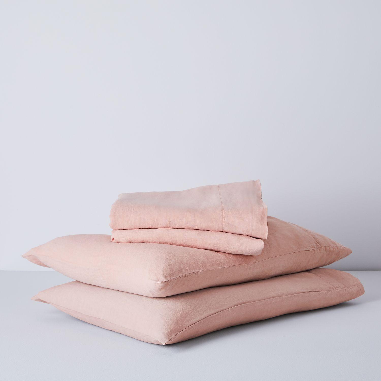 Hawkins New York Simple Linen Bedding Set Queen Size 16