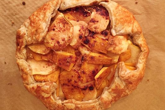 APPLE PERSIMMON GALETTE