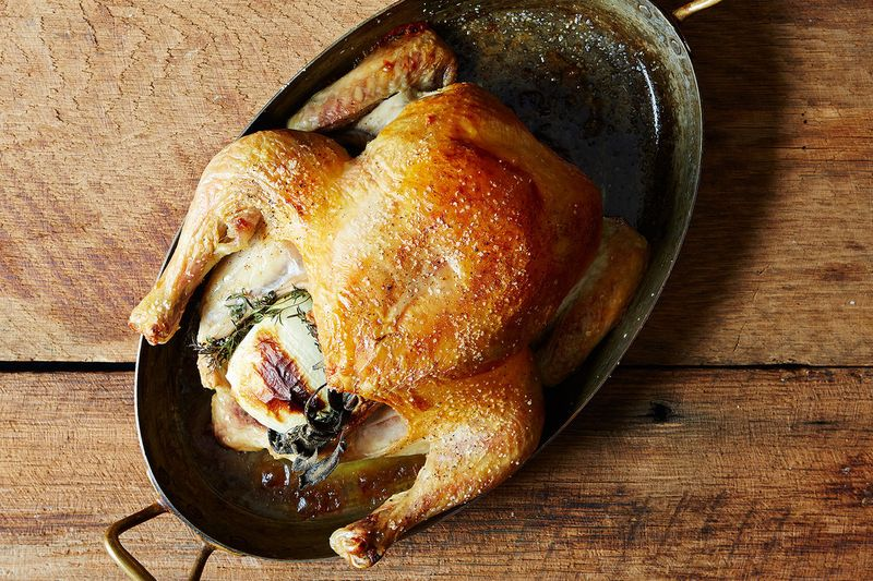 The Search for the Perfect Roast Chicken Recipe