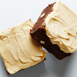 Triple Chocolate Coffee Brownies