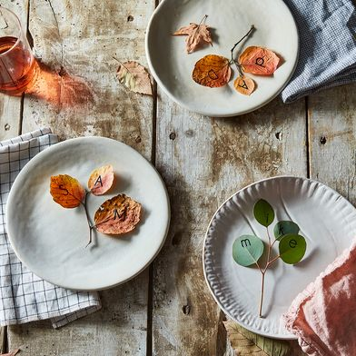 A Last-Minute Place Card DIY for Any Fall Dinner Party