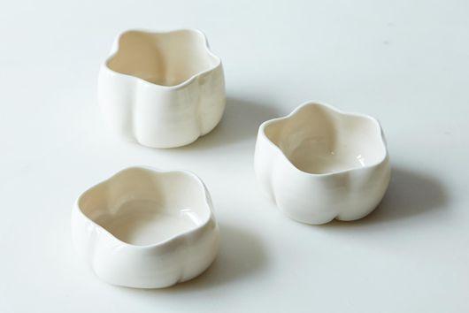 Porcelain Tea Light Holders (Set of 3)