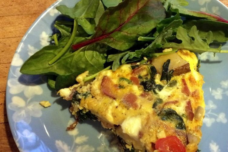 5th Day of Christmas Frittata