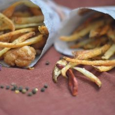 Garam Masala and Lavender Pommes Frites