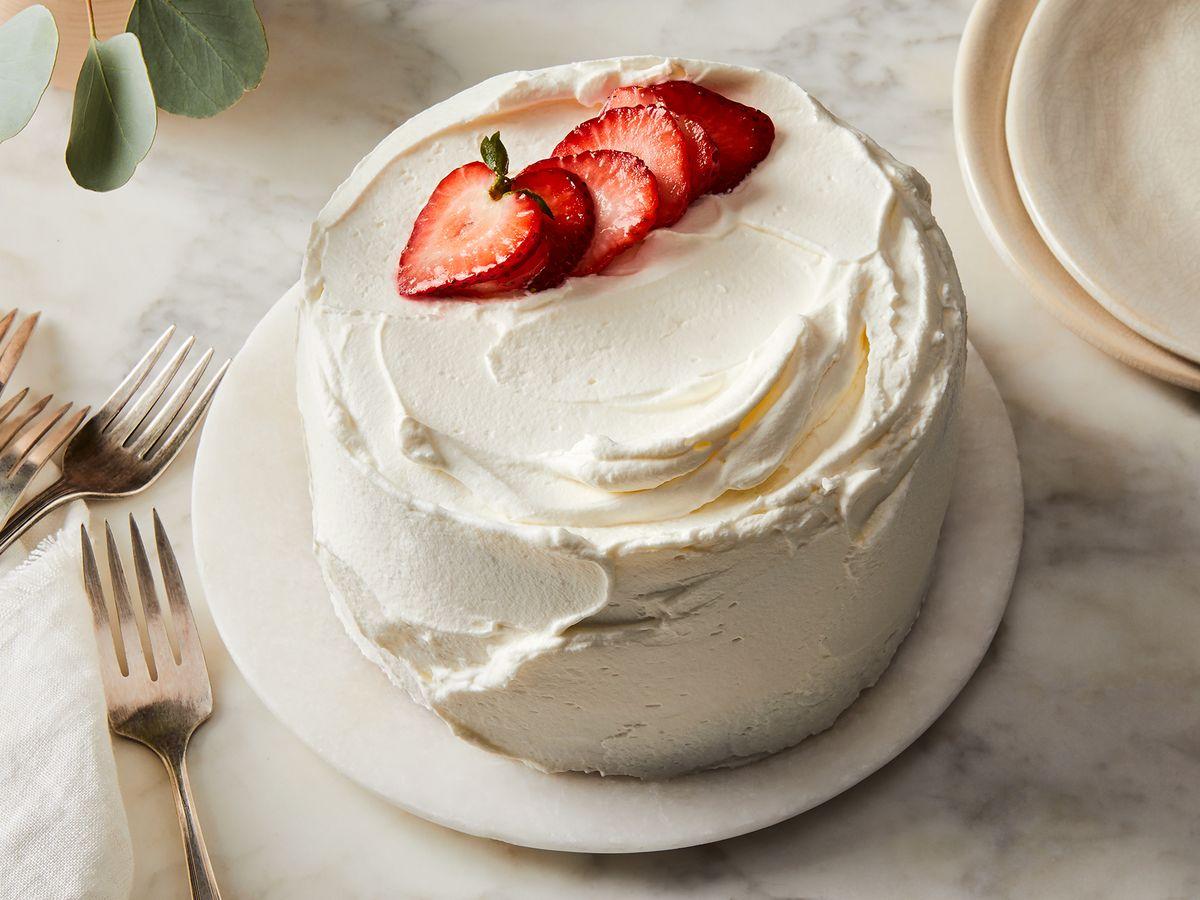 Super Korean Fresh Cream Cake Recipe On Food52 Funny Birthday Cards Online Elaedamsfinfo