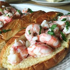 Southern Shrimp Rolls