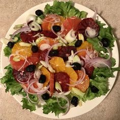 Refreshing Winter Citrus Salad