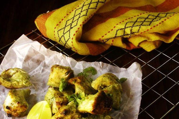 Coriander Chicken Kebab