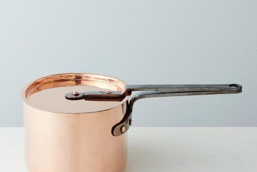 Vintage Copper French Daubier, Late 19th Century