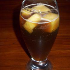 Pineapple refreshing drink