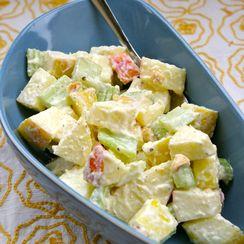 Apple, Celery, and Horseradish Salad