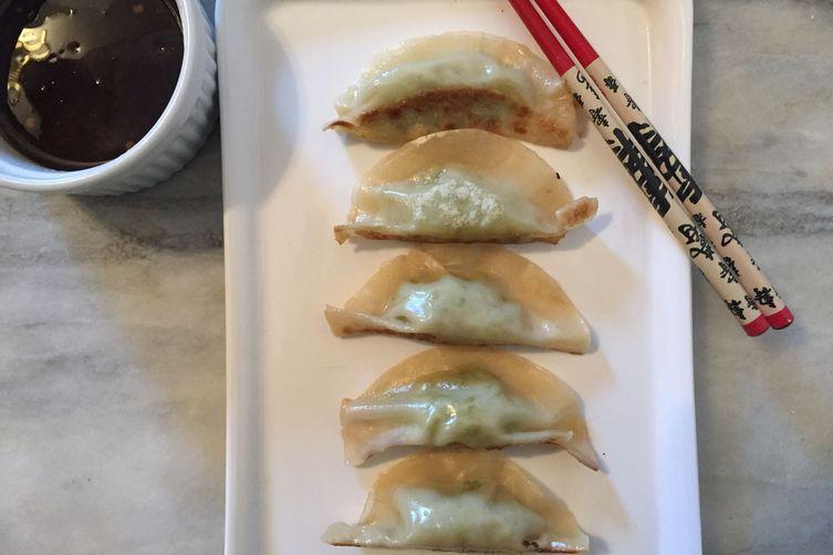 Edamame Gyoza With Dipping Sauce