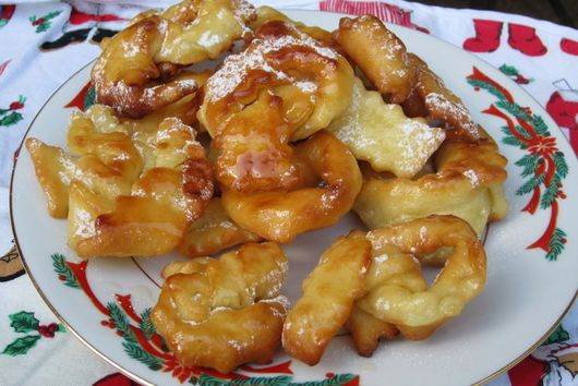 My Great Grandma's Holiday Honey Fritter Cookies
