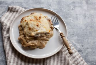 Lasagna Fans: Feast on This Meaty, Mushroomy Upgrade