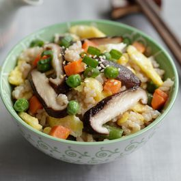 Annie Chun's Shiitake Mushroom & Vegetable Fried Brown Rice