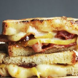 Bacon, Pear, & Brie Panini