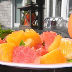 Citrus mint salad