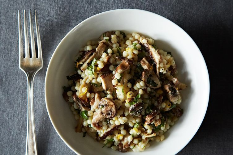Truffled Israeli Couscous from Food52