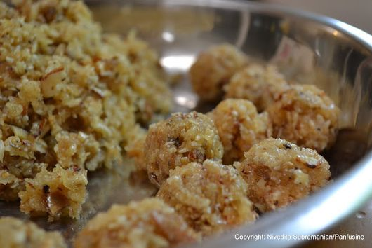 Ganesha's favorite food: Modaks (Sweet version)