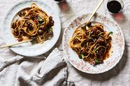 Portobello Bolognese Pasta